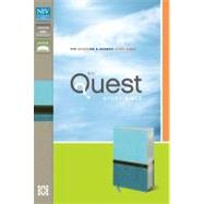 NIV Quest Study Bible: The Question & Answer Bible: NIV Turquoise / Caribbean Blue Italian Duo-Tone by Zondervan Publishing House, 9780310949657