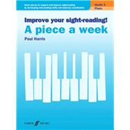 Improve Your Sight-reading! Piano-a Piece a Week, Grade 3 by Harris, Paul, 9780571539659