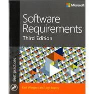 Software Requirements by Wiegers, Karl; Beatty, Joy, 9780735679665