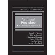 Criminal Procedure by Weaver, Russell; Burkoff, John; Hancock, Catherine; Hoeffel, Janet; Singer, Stephen, 9781628109665