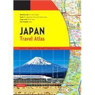 Japan Travel Atlas by Tuttle Publishing, 9784805309667