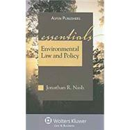 Environmental Law and Policy The Essentials by Nash, Jonathan R., 9780735579668