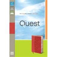 Quest Study Bible: New International Version, Coral, Italian Duo-Tone, The Question & Answer Study Bible by Zondervan Publishing House, 9780310949671