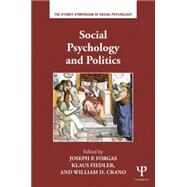 Social Psychology and Politics by Forgas; Joseph P., 9781138829671