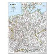 Germany Classic by National Geographic Maps, 9780792249672