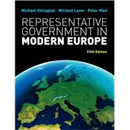 Representative Government in Modern Europe by Gallagher, 9780077129675