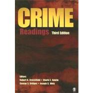 Crime : Readings by Robert D. Crutchfield, 9781412949675
