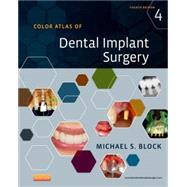 Color Atlas of Dental Implant Surgery (Book with DVD) by Block, Michael S., 9781455759682