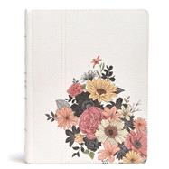The Illustrator's Notetaking Bible: NKJV Edition, Floral Canvas Over Board by Holman Bible Staff, 9781433649684