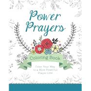 Power Prayers Coloring Book by Barbour Publishing, 9781634099684