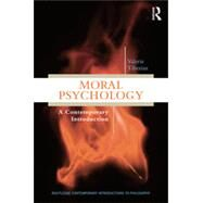 Moral Psychology: A Contemporary Introduction by Tiberius; Valerie, 9780415529686