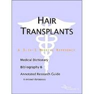 Hair Transplants - A Medical Dictionary, Bibliography, and Annotated Research Guide to Internet References by Icon Health Publications, 9780597839689