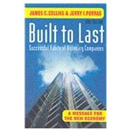 Built to Last by James Collins, 9780712669689