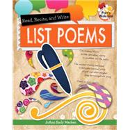 Read, Recite, and Write List Poems by Macken, JoAnn Early, 9780778719694