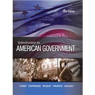 Introduction to American Government by TURNER,CHARLES, 9781602299696