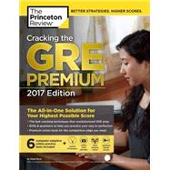 Cracking the GRE Premium Edition with 6 Practice Tests, 2017 by Princeton Review, 9781101919699