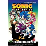 Sonic Saga 8 by Sonic Scribes, 9781619889699