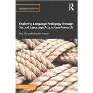 Exploring Language Pedagogy through Second Language Acquisition Research by Ellis; Rod, 9780415519700