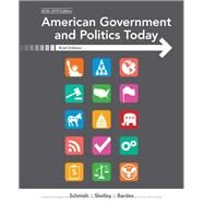 American Government and Politics Today, Brief by Schmidt, Steffen W.; Shelley, Mack C.; Bardes, Barbara A., 9781337559706
