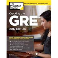 Cracking the GRE with 4 Practice Tests, 2017 Edition by Princeton Review, 9781101919712