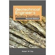 Geotechnical Engineers Portable Handbook, Second Edition by Day, Robert, 9780071789714