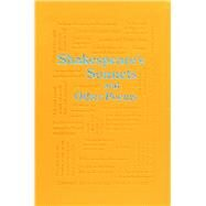Shakespeare's Sonnets and Other Poems by Shakespeare, William, 9781626869714
