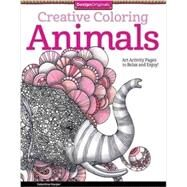Creative Coloring Animals by Harper, Valentina, 9781574219715