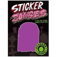 Sticker Zombies by Studio Rarekwai, 9781856699716