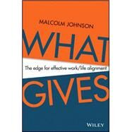 What Gives by Johnson, Malcolm, 9780730319719