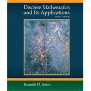Discrete Mathematics and Its Applications by Rosen, Kenneth, 9780073229720