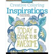 Creative Coloring Inspirations by Harper, Valentina, 9781574219722