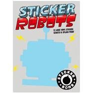 Sticker Robots by Studio Rarekwai, 9781856699723