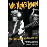 We Never Learn by Davidson, Eric, 9780879309725
