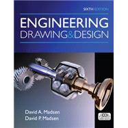 Engineering Drawing and Design by Madsen, David A.; Madsen, David P., 9781305659728