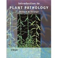 Introduction to Plant Pathology by Strange, Richard N., 9780470849736