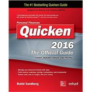 Quicken 2016 The Official Guide by Sandberg, Bobbi, 9781259589737