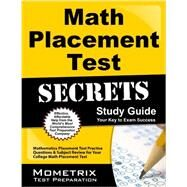 Math Placement Test Secrets by Mometrix Media LLC, 9781627339742
