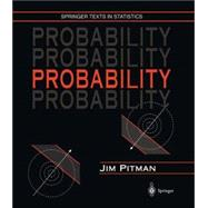 Probability by Pitman, Jim, 9780387979748