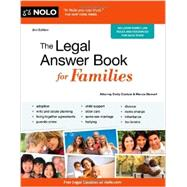 The Legal Answer Book for Families by Doskow, Emily; Stewart, Marcia, 9781413319750