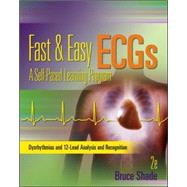 Fast and Easy ECGs: A Self-Paced Learning Program by Shade, Bruce, 9780073519753