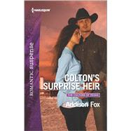 Colton's Surprise Heir by Fox, Addison, 9780373279753
