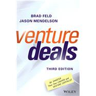 Venture Deals by Feld, Brad; Mendelson, Jason, 9781119259756