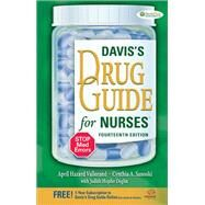 Davis's Drug Guide for Nurses by Vallerand, April Hazard, 9780803639768