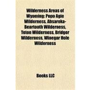 Wilderness Areas of Wyoming : Popo Agie Wilderness, Absaroka-Beartooth Wilderness, Teton Wilderness, Bridger Wilderness, Winegar Hole Wilderness by , 9781155409771