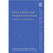 Penal Culture and Hyperincarceration: The Revival of the Prison by Cunneen,Chris, 9781138269774