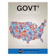 GOVT 9 (with Online, 1 term (6 months) Printed Access Card), 9th by Sidlow/Henschen, 9781337099783