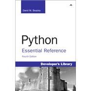 Python Essential Reference by Beazley, David, 9780672329784