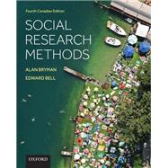 Social Research Methods by Alan Bryman and Edward Bell, 9780199009787