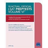 10 Actual, Official Lsat Preptests by Law School Admission Council, 9780998339788