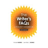 Writer's FAQs A Pocket Handbook, The,  Plus MyLab Writing without Pearson eText -- Access Card Package by Harris, Muriel, Professor Emerita; Kunka, Jennifer L., 9780134139791
